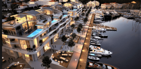 Sea View Luxury 1BR in Kotor, Montenegro